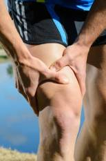 sports injury to the thigh / leg