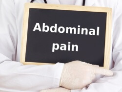 Abdominal pain sign