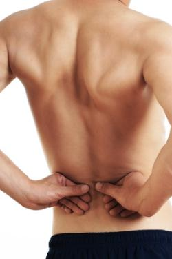 Muscle pain in lower back
