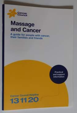 Massage and Cancer Guide