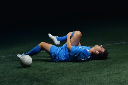 Sports massage for soccer injury